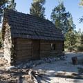 1900-built West Fork Ranger Station.- Chilao Visitor Center + Interpretive Trail