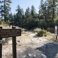 Silver Moccasin Trailhead.- Silver Moccasin Trail Hike via Upper Chilao Trailhead