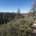 Silver Moccasin Trail.- Silver Moccasin Trail Hike via Upper Chilao Trailhead