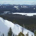 Fun wind lips to the west.- Cinder Cone Backcountry Ski