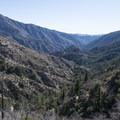View down Devils Canyon.- Devils Canyon Trail Hike
