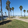 Noble Park in Hermosa Beach.- Hermosa Beach + Pier