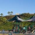 Beach playground.- Moonlight State Beach