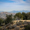 Views of Mount Baldy to the north.- Panorama Park Summit Trail