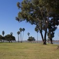 Covered picnic areas.- Mission Bay Park