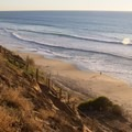 Looking south over Leucadia State Beach/Beacon's.- Leucadia State Beach/Beacon's Beach