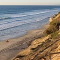 Looking north over Leucadia State Beach/Beacon's.- Leucadia State Beach/Beacon's Beach