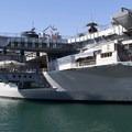 Air craft carrier museum along the Embarcadero.- Embarcadero + Waterfront Park