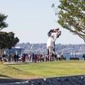 """""""Unconditional Surrender"""" sculpture war memorial in Waterfront Park.- Embarcadero + Waterfront Park"""