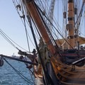 HMS Surprise is permanently displayed at the Maritime Museum- Embarcadero + Waterfront Park