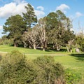 Golf course at the top of DeLaveaga Park.- Enchanted Trail Hike