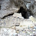 Full view of the exterior of the Upper Ruin from the terminus of the trail.- Tonto National Monument, Upper + Lower Ruins