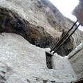 Second story of the middle rooms of the Upper Ruin.- Tonto National Monument, Upper + Lower Ruins