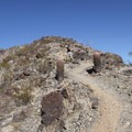 The steep section of the trail.- Pyramid Trail Hike