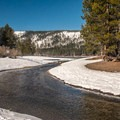 Donner Creek.- Donner Memorial State Park Snowshoe