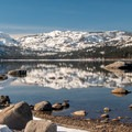Donner Pass.- Donner Memorial State Park Snowshoe