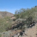 The approach to Stone Hut.- Telegraph Pass Hike