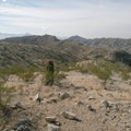 Looking west from the summit of Telegraph Pass.- Telegraph Pass Hike
