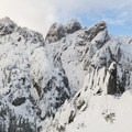 Different perspectives can be found on this hike.- Castle Dome Snowshoe