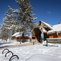 The park's visitor center has a collection of displays and maps relating to the Donner Party and park trails.- Donner Memorial State Park Cross-Country Ski