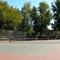 Tennis courts in Southside Community Park.- Southside Community Park