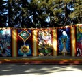 Colorful outdoor theater.- Southside Community Park