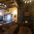 Multnomah Falls Lodge.- Multnomah Falls + Lodge