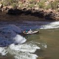 One of the many 'Roaring 20's' rapids.- The Grand Canyon of the Colorado River