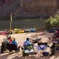River camp life.- The Grand Canyon of the Colorado River
