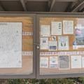 Information sign at the Borrego Canyon Trailhead.- Borrego Canyon + Red Rock Canyon Trails