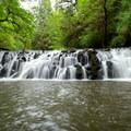 Upper Beaver Falls.- Beaver Falls