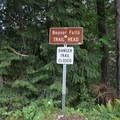Beaver Falls Trailhead.- Beaver Falls