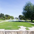 Bauer Lawn and Fountains.- Los Angeles County Arboretum + Botanic Garden
