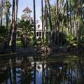 Queen Anne Cottage on the edge of Baldwin Lake.- Los Angeles County Arboretum + Botanic Garden