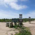 A short walk from the gated entrance brings you to the loop.- Scripps Coastal Reserve