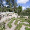 Some paths are quite formal.- Niguel Botanical Preserve