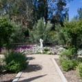 Formal area near the labyrinth.- Niguel Botanical Preserve