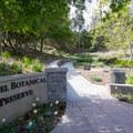 Preserve entrance.- Niguel Botanical Preserve