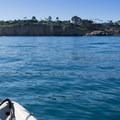 The view toward the caves.- La Jolla Shores