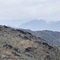 View northwest toward San Gorginio Mountain (11,503 ft) from above Lost Horse Mine.- Lost Horse Mine Hike
