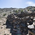 Stone rubble enclosure/ruin en route to Lost Horse Mine.- Lost Horse Mine Hike