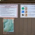 Several map kiosks guide riders through the trails.- L.L. Stub Stewart State Park Mountain Bike Trails: Freeride + XC Loop