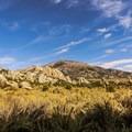 Cache Peak above Castle Rocks State Park.- Cache Peak + Mount Independence