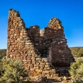 One of the Hovenweep ruins.- Hovenweep National Monument