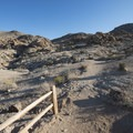 Fortynine Palms Oasis Trailhead.- Fortynine Palms Oasis Hike