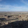 View northeast toward Twentynine Palms.- Fortynine Palms Oasis Hike