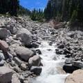 Ladd Creek.- Cairn Basin + McNeil Point via the Vista Ridge Trail