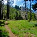 Trail to Cairn Basin.- Cairn Basin + McNeil Point via the Vista Ridge Trail