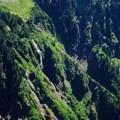 Yocum Ridge waterfalls.- Cairn Basin + McNeil Point via the Vista Ridge Trail
