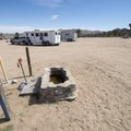 Black Rock Horse Camp accommodating up to 20 sites.- Black Rock Canyon Campground